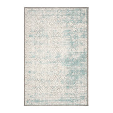 Safavieh Passion Woven Rug, Turquoise/Ivory, 8'x11'
