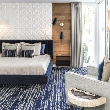 Primary Bedroom Textures Creates Richness