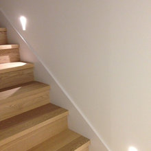 In-wall lighting, stair, walk way