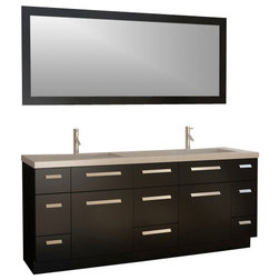 Contemporary Bathroom Vanities And Sink Consoles by XOMART