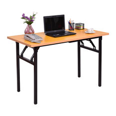 Costway Folding Computer Desk PC Laptop Table Writing Workstation Home Office