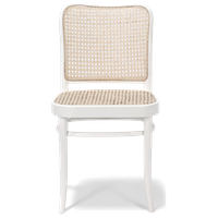Noel Rattan Chair, White