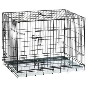 Beeztees Dog Crate, 78x55x61 cm, Black, 715802