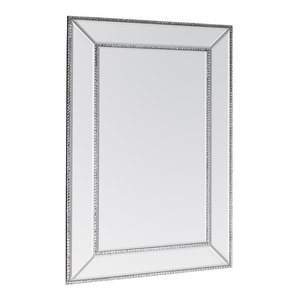 Jewelled Rectangle Mirror, 60x90 cm