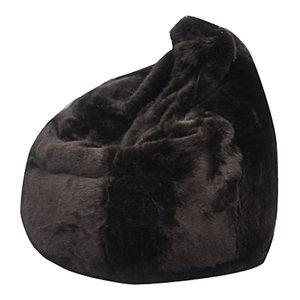 Posh, Bean Bag Chair, Brown