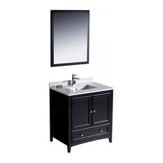 Fresca Oxford 30   Espresso Traditional Bathroom Vanity, FVN2030ES