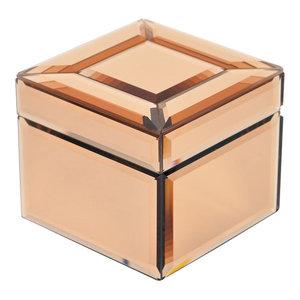 EMDE Copper Rose Jewellery Box