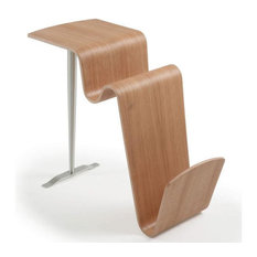 - FUNCO SIDETABLE OAK - Side Tables & End Tables