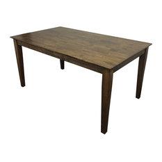 Dark Walnut Shaker Table 60-inch