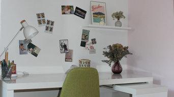 réaménagement d'une chambre en bureau