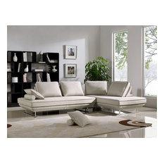 Diamond Sofa Dolce Lounge Seating Platforms Backrest Supports, Sand, 2-Piece Set