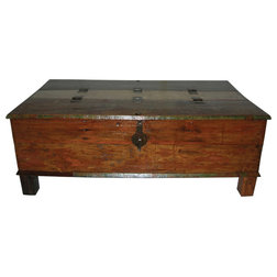 Rustic Coffee Tables by Moti