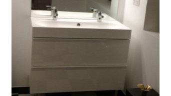 Salle de bain Damier Noir & Blanc