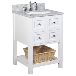 Trend Beach Style Bathroom Vanities And Sink Consoles by Kitchen Bath Collection