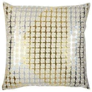 Haute Flor Gold-Silver Pillow, 51x51cm
