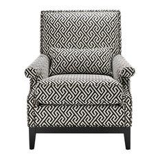 Eichholtz Goldoni Pattern Lounge Chair