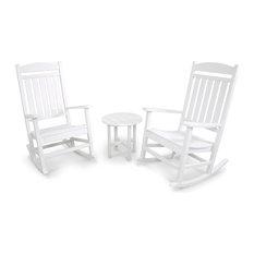 Ivy Terrace Classics 3-Piece Rocker Seating Set, White
