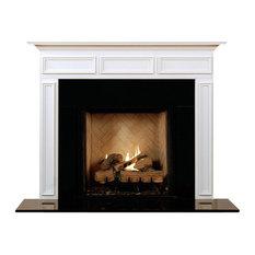 MantelCraft   Danbury Fireplace Mantel, Unfinished, Opening: 54 Part 88
