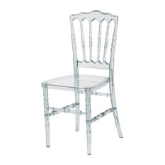 Stackable Napoleon Chair, Clear