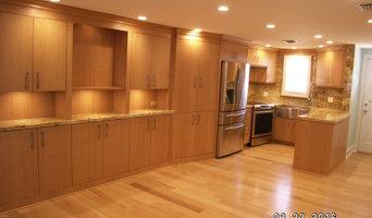 White Oak Kitchen and Floor