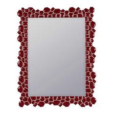 Red Bathroom Mirrors