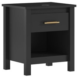 Transitional Nightstands And Bedside Tables by Dorel Home Furnishings, Inc.