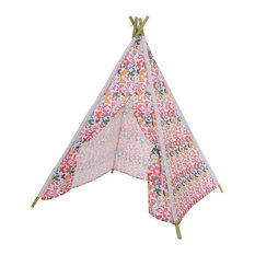 Butterfly Print Outdoor Teepee