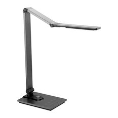 Softech, Natural Light Smart LED Lamp With Stylish Aluminum, Black