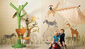 Safari Mural Panels