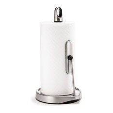 Simplehuman Tension-Arm Paper Towel Holder, Stainless Steel