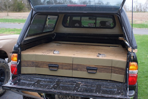 Truck Camping Ideas >> Truck Bed Camping Design Ideas