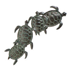 Southern Enterprises - Galapagos Turtle Wall Art - Wall Sculptures