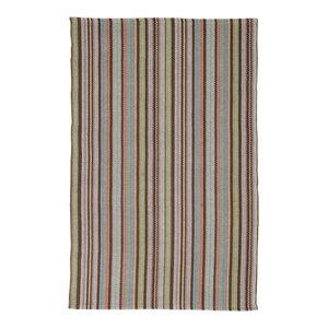 Handwoven Provence Cotton Rug, Multicolour, 170x240 Cm
