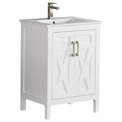 Transitional Bathroom Vanities And Sink Consoles by Tile Generation
