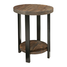 Alaterre   Alaterre Pomona End Table, Rustic Natural   Side Tables And End  Tables