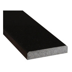 Premium Blk 5X36X.75 Dbl Bevel Polished Granite Thresholds And Sills