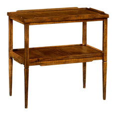 Jonathan Charles Fine Furniture   Jonathan Charles Walnut Country Style  Side Table 491020 CFW