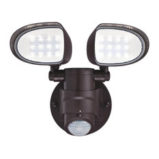 """Westinghouse 6364300 2 Light 10""""W Integrated LED Outdoor Dual - Bronze"""