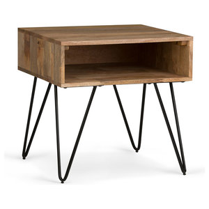 Hunter Natural Mango Wood End Table