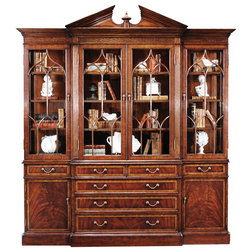 Traditional China Cabinets And Hutches by Jonathan Charles Fine Furniture