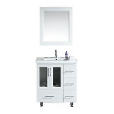 "Stanton 32"" Single Sink Vanity Set, White, Stanton 32"""