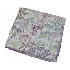 McAlister Textiles Wildflower Throw, Pastel, 130x200cm