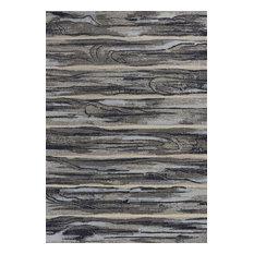 "Illusions 6210 Gray Landscape Rug, 7'10""x10'10"""