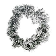 Snowy Toronto Wreath, 50 cm