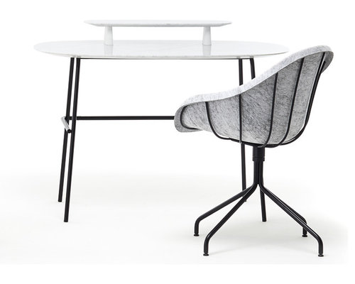 Bon TUBO Armchair + Desk   Armchairs And Accent Chairs