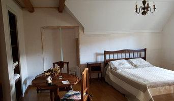 décoration et agencement d'une chambre d'amis