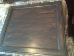 Where To Purchase Or How To Mix Gel Stain In Charcoal Grey