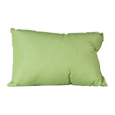 Outdoor Lumbar Pillow, Sunbrella Fabric, Parrot