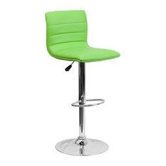 Green Contemporary Barstool CH-92023-1-GRN-GG