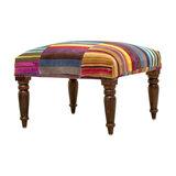 Fandango Velvet Large Footstool